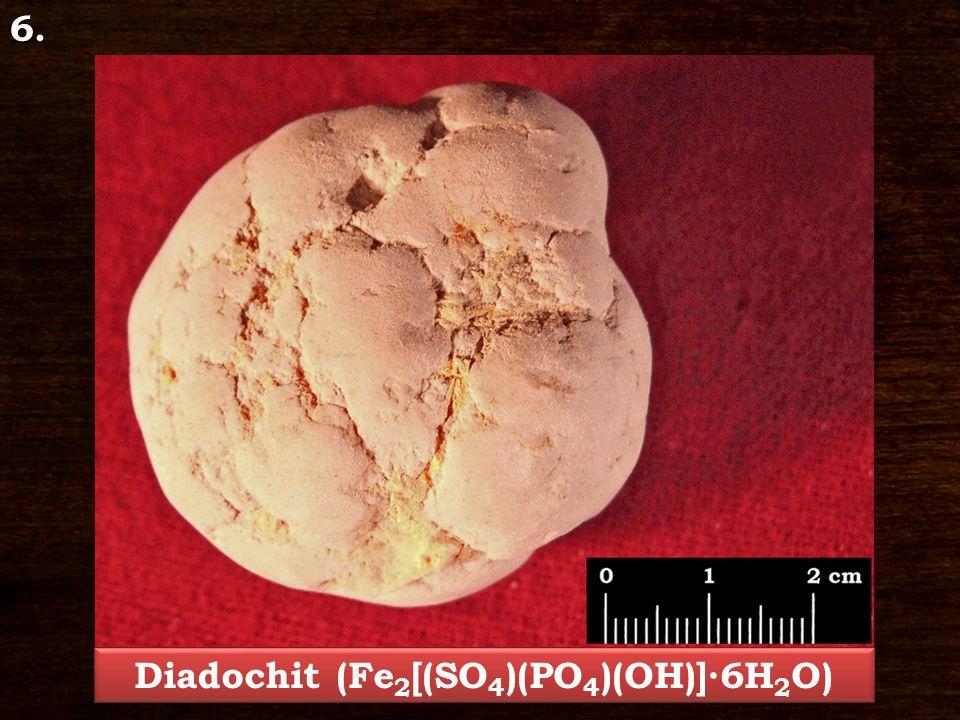 Diadochit (Fe2[(SO4)(PO4)(OH)]∙6H2O)